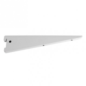 "TWINSLOT BRACKET 4 1/2"" (114MM) WHITE"