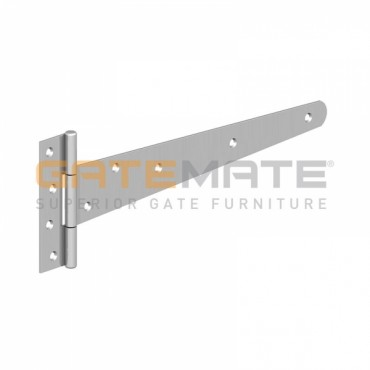 "BIRKDALE GM LIGHT TEE HINGES 10"" 250MM BZP P64"