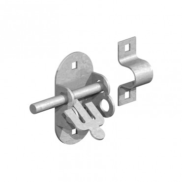 "BIRKDALE GM OVAL PADBOLTS 4"" 100MM GALV P69"