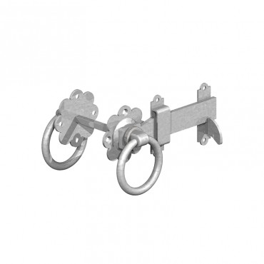 "BIRKDALE GM RING GATE LATCHES 6"" 150MM GALV P72"