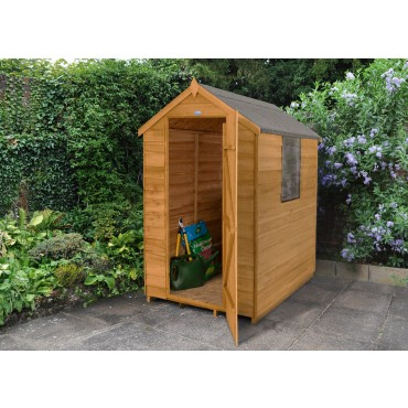 6' x 4' APEX SHED