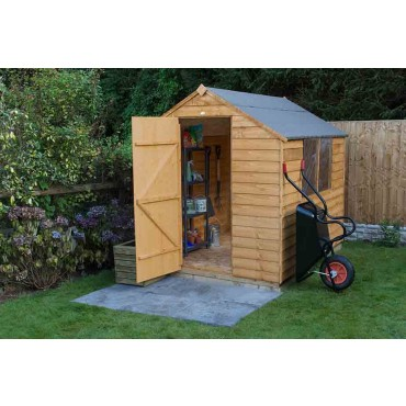 8' x 6' APEX SHED - TWO WINDOWS