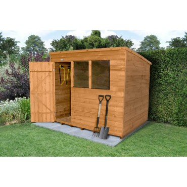 8' x 6' PENT SHED