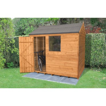 8' x 6' REVERSE APEX SHED