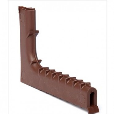 TIMLOC TUNNEL WEEP VENT 65MM X 10MM X 100MM BROWN