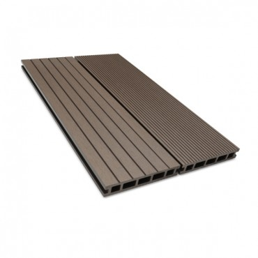 MC COMPOSITE DECK BOARD 150MM X 25MM DARK BROWN