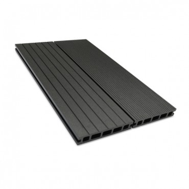 MC COMPOSITE DECK BOARD 150MM X 25MM X 2900MM DARK GRAY