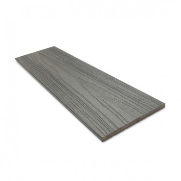 MC COMPOSITE PLUS FLAT DECK TRIM 150MM X 10MM DARK GRAY
