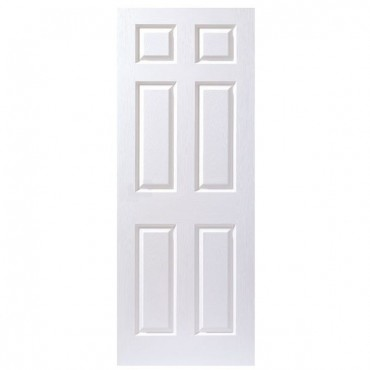 "6 PANEL MOULDED DOOR FIRE CHECK 762 X 1981 (2'6"")"