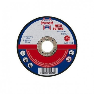 FAI/FULL CUT OFF WHEEL 115MM X 3.2 X 22 METAL FAI1153M