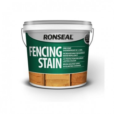 FENCE STAIN DARK OAK 5LTR 38229