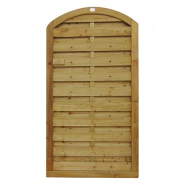 ARCHED HORIZONTAL TOP GATE 1.8M H X .9M W
