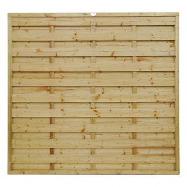 SQUARE HORIZONTAL FENCE PANEL