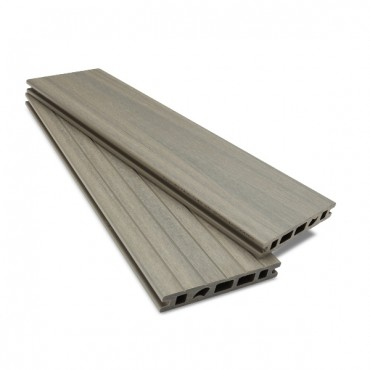 MC COMPOSITE PLUS DECK BOARD 150MM X 25MM LIGHT GRAY