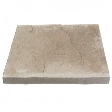 BRADSTONE RIVEN PEAK FLAG 600 X 600 X 32 GREY