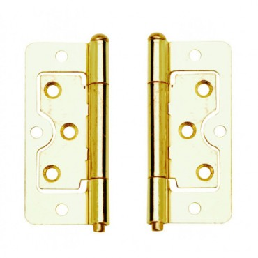 EB 75mm Flush Hinge (x2) - Dalepax DX40508
