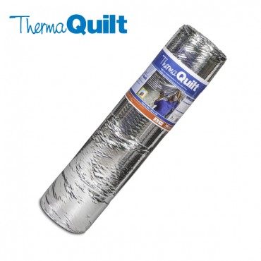 THERMAQUILT FOIL INSULATION 1.2M x 10M 9 LAYER INSULATION BLANKET