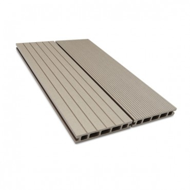 MC COMPOSITE DECK BOARD 150MM X 25MM LIGHT GRAY