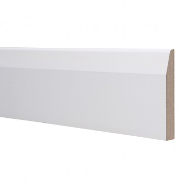 18 X 94 MDF SKIRTING 5.4M CHAMFERED