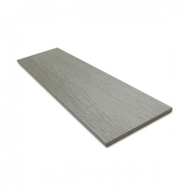 MC COMPOSITE PLUS FLAT DECK TRIM 150MM X 10MM MID GRAY