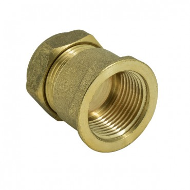 22MM COMPRESSION STRAIGHT COUPLER  C X C