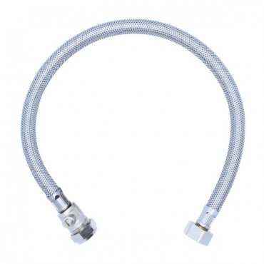 "1/2"" x 15mm x 500mm Flexible Conn with Isolator"