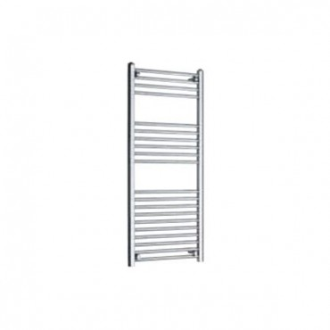 TOWEL RAIL STRAIGHT 500MM WIDE X 1200MM HIGH CHROME OUTPUT 436W 1488BTU