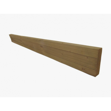RIBBED TIMBER GRAVEL BOARD 1.8M L X .15 H X .47 W