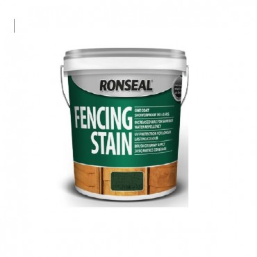 FENCE STAIN MEDIUM OAK 5LTR 38230