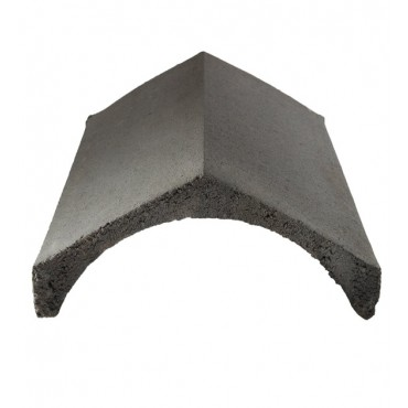 LAGAN UNIVERSAL ANGLE RIDGE TILE SLATE GREY