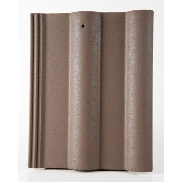 LAGAN DOUBLE ROLL ROOF TILE BROWN