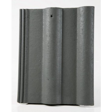 LAGAN DOUBLE ROLL ROOF TILE GREY