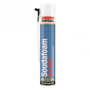 SOUDAFOAM GAP FILLER HAND HELD 750ML