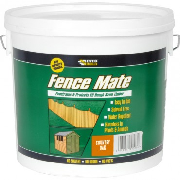 FENCE MATE COUNTRY OAK 5LTR