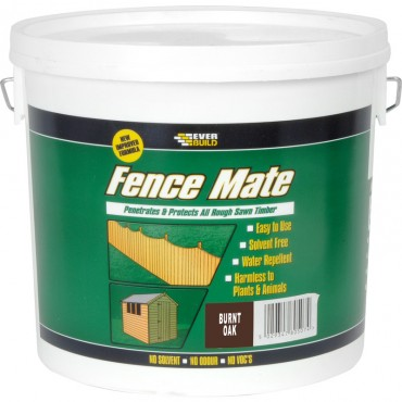 FENCE MATE BURNT OAK 5LTR