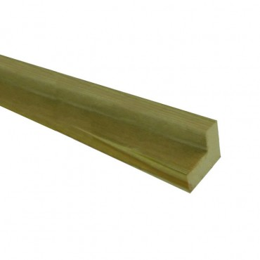 "GREEN TREATED DECKING ""L"" HANDRAIL SYSTEM FOR USE WITH 41MM SPINDLES"