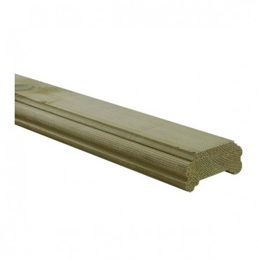 GREEN TREATED DECKING HANDRAIL