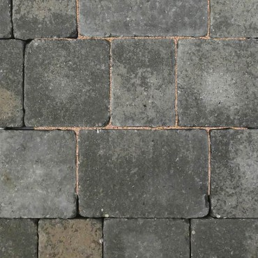 WOBURN RUMBLED BLOCK PAVER PACK GRAPHITE