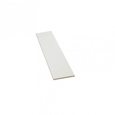 1830 X 533MM WHITE MELAMINE