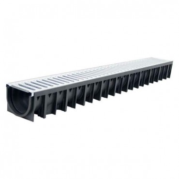 1M DRAINAGE CHANNEL METAL GRATE