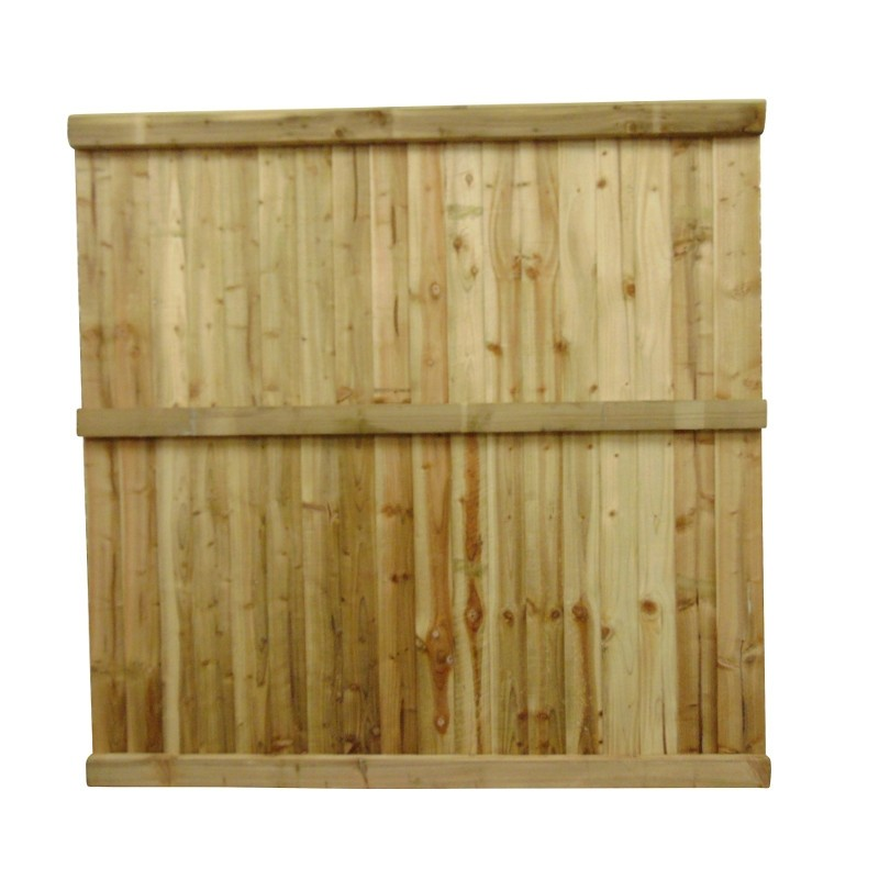 Featheredge Panel Flat Top Fencing Amp Decking