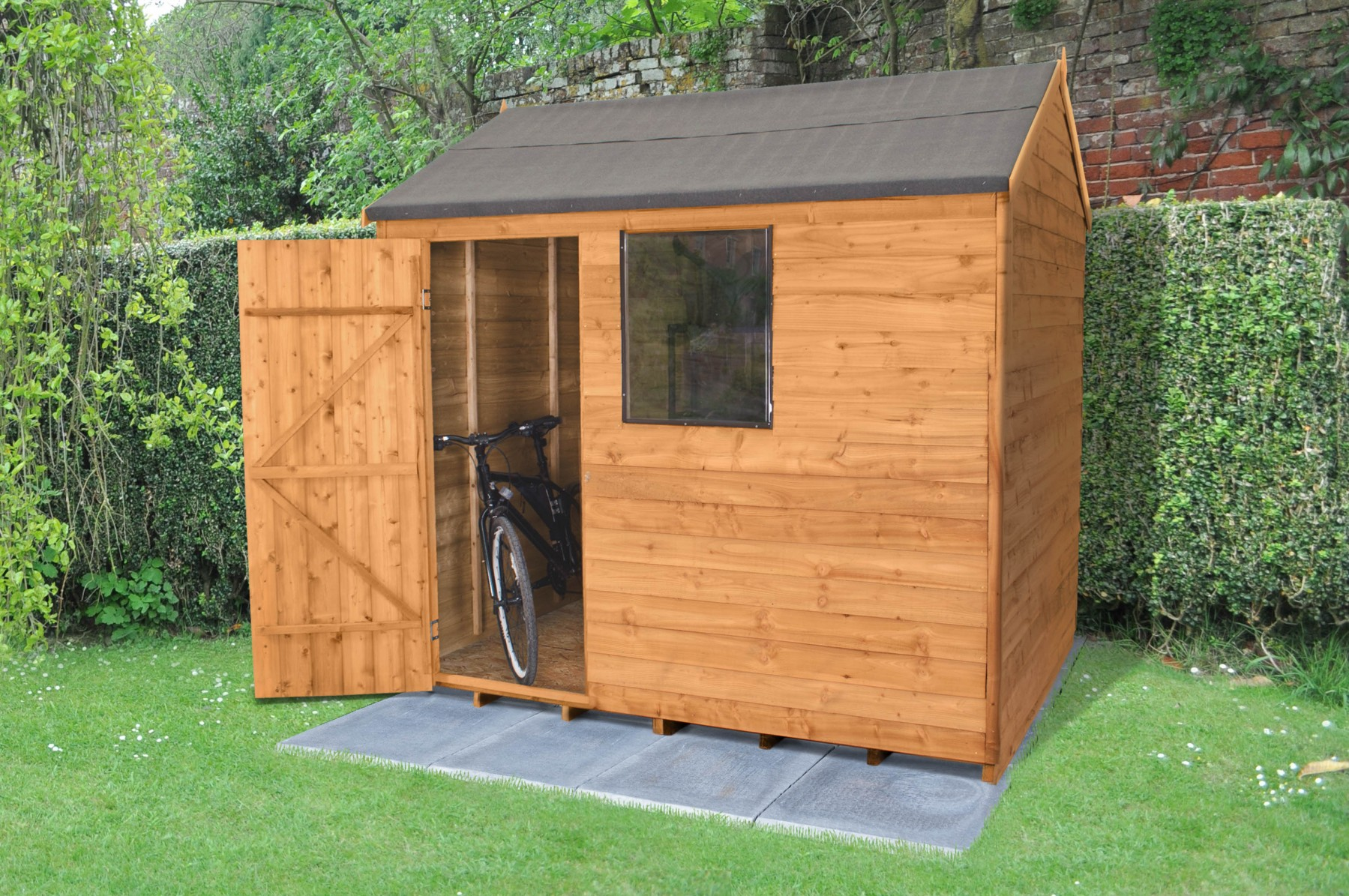 8x6 Deck This Is L Shaped Garden Shed Plans
