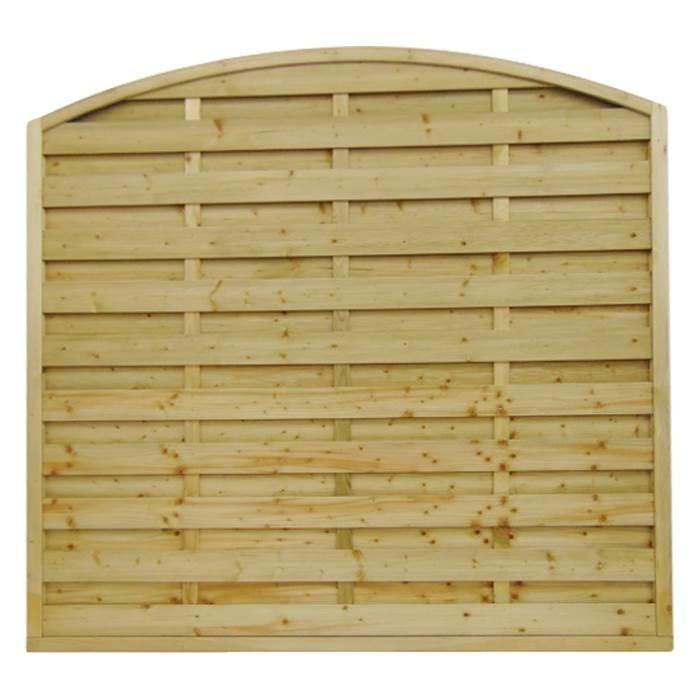 Arched Horizontal Fence Panel Manningham Concrete