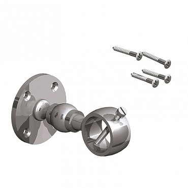 BIRKDALE FM HANDRAIL BRACKET> ROPE PK 2 24 & 28MM ROPE CHROME