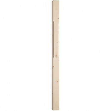 ST1500P 1500MM X 91MM X 91MM STOP CHAMFERED   NEWEL