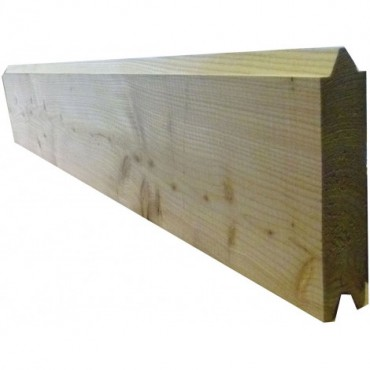 HEAVY DUTY TONGUE & GROVED BOARDS EX 200MM X 47MM GREEN TREATED