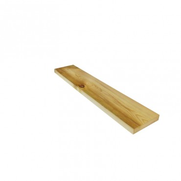 EX 125MM X 25MM GREEN TREATED & PLANED TIMBER (FINISHED SIZE 120MM X 20MM)
