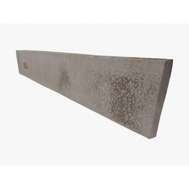 "12"" PLAIN CONCRETE GRAVEL BOARD"