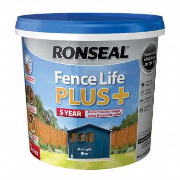 FENCE LIFE PLUS MIDNIGHT BLUE 5LTR