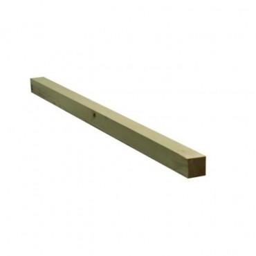 EX 50MM X 50MM  GREEN TREATED & PLANED TIMBER (FINISHED SIZE 45MM X 45MM)